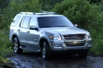 2010 Ford Explorer in Brilliant Silver Metallic - Driving Front Right Three-quarter View