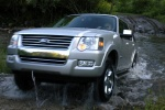 2010 Ford Explorer in Brilliant Silver Metallic - Driving Front Left View