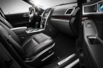 Picture of 2012 Ford Explorer Limited 4WD Interior in Charcoal Black