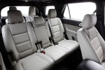 2013 Ford Explorer Limited 4WD Rear Seats in Medium Light Stone