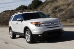 2013 Ford Explorer Limited 4WD in Ingot Silver Metallic - Driving Front Right View