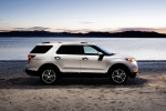 2013 Ford Explorer Limited 4WD in White Suede - Static Right Side View