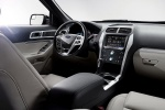 Picture of 2015 Ford Explorer Limited 4WD Interior in Medium Light Stone