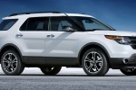 Picture of 2015 Ford Explorer Sport 4WD in White Platinum Metallic Tri-Coat