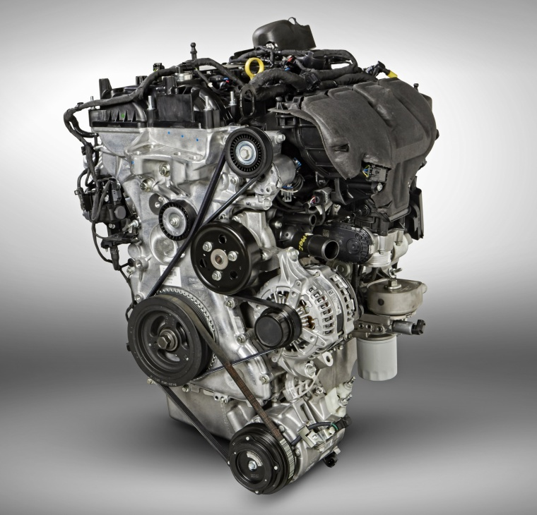 Picture of a 2016 Ford Explorer Limited 4WD's 2.3-liter Inline-4 turbocharged Engine
