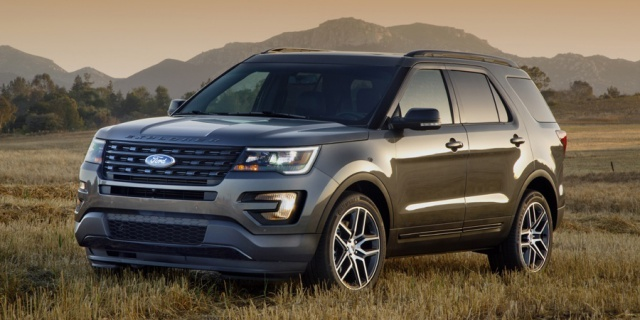 2019 Ford Explorer Pictures