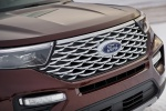 Picture of a 2020 Ford Explorer Platinum V6 EcoBoost 4WD's Grille