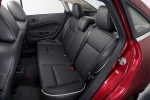 Picture of 2011 Ford Fiesta Sedan Rear Seats
