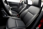 Picture of 2012 Ford Fiesta Sedan Front Seats