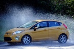 Picture of 2012 Ford Fiesta Hatchback in Yellow Blaze Metallic Tri-coat