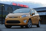 Picture of 2013 Ford Fiesta Hatchback in Yellow Blaze Metallic Tri-coat