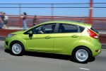Picture of 2013 Ford Fiesta Hatchback in Lime Squeeze Metallic