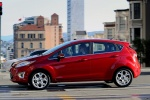 Picture of 2013 Ford Fiesta Hatchback in Ruby Red Metallic Tinted Clearcoat