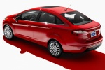 Picture of 2014 Ford Fiesta Sedan Titanium in Race Red