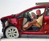 2015 Ford Fiesta IIHS Frontal Impact Crash Test Picture