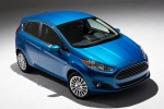2015 Ford Fiesta Hatchback Titanium in Blue Candy Metallic Tinted Clearcoat - Static Front Right View