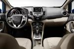 Picture of 2015 Ford Fiesta Hatchback Titanium Cockpit in Medium Light Stone