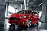 2015 Ford Fiesta Hatchback ST in Race Red - Static Front Left View