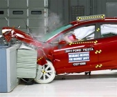 2017 Ford Fiesta IIHS Frontal Impact Crash Test Picture