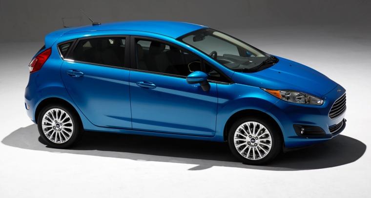 2018 Ford Fiesta Hatchback Titanium Picture