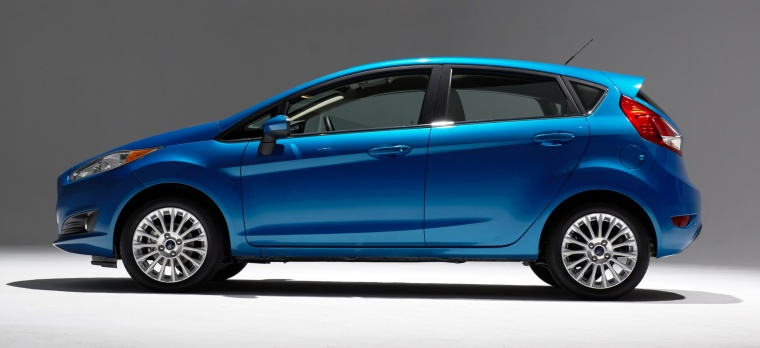 2018 Ford Fiesta Hatchback Titanium Picture