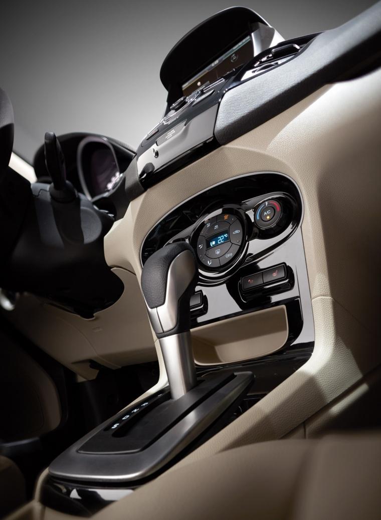 2018 Ford Fiesta Hatchback Titanium Center Stack Picture