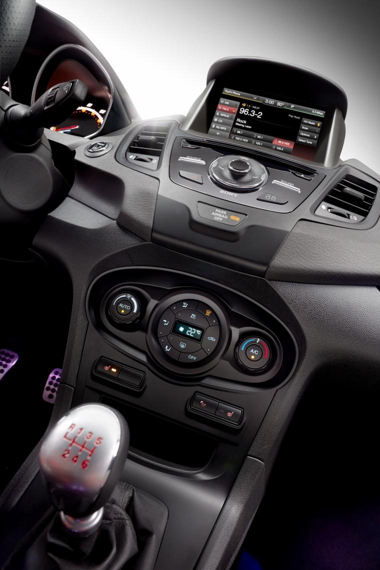 2018 Ford Fiesta Hatchback ST Center Stack Picture
