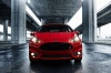 2018 Ford Fiesta Hatchback ST in Red from a frontal view