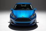 2018 Ford Fiesta Hatchback Titanium in Blue - Static Frontal View