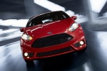 2018 Ford Fiesta Hatchback ST in Red - Driving Frontal View