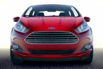 2018 Ford Fiesta Sedan Titanium in Red - Static Frontal View