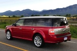 Picture of 2010 Ford Flex EcoBoost in Red Candy Metallic Tinted Clearcoat