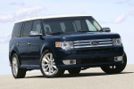 2012 Ford Flex EcoBoost in Dark Ink Blue Metallic - Static Front Right View