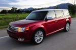 Picture of 2012 Ford Flex EcoBoost in Red Candy Metallic Tinted Clearcoat