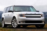 2013 Ford Flex SEL in Ingot Silver Metallic - Static Front Right View