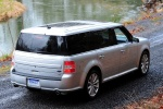 2014 Ford Flex SEL in Ingot Silver Metallic - Static Rear Right Three-quarter View