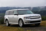 2014 Ford Flex SEL in Ingot Silver Metallic - Static Front Right Three-quarter View