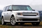 2014 Ford Flex SEL in Ingot Silver Metallic - Static Front Right View