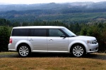 2015 Ford Flex SEL in Ingot Silver Metallic - Static Side View