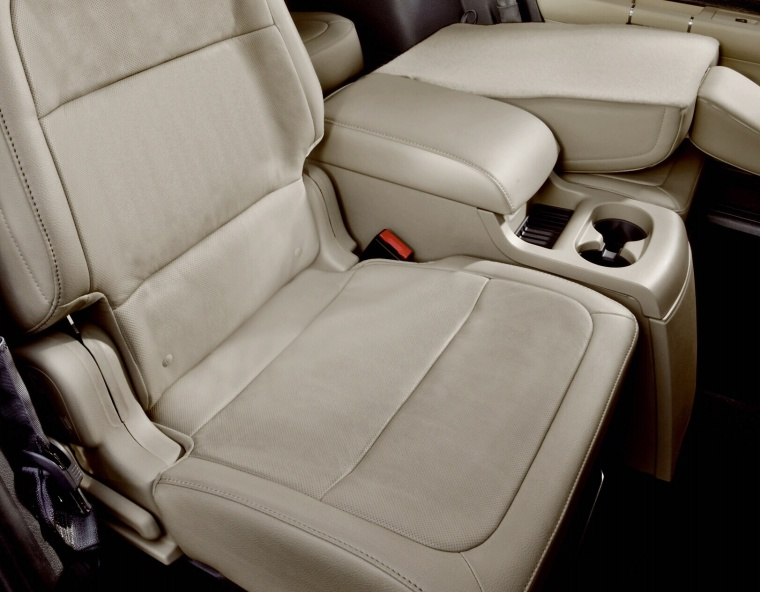 2017 Ford Flex SEL Front Seats Picture