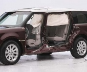 2017 Ford Flex IIHS Side Impact Crash Test Picture