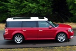2017 Ford Flex SEL in Ruby Red Metallic Tinted Clearcoat - Driving Right Side View