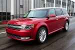 2017 Ford Flex SEL in Ruby Red Metallic Tinted Clearcoat - Driving Front Left View