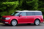 2017 Ford Flex SEL in Ruby Red Metallic Tinted Clearcoat - Driving Left Side View