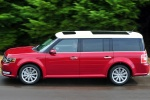2017 Ford Flex SEL in Ruby Red Metallic Tinted Clearcoat - Driving Side View