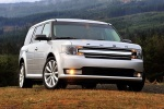 2017 Ford Flex SEL in Ingot Silver Metallic - Static Frontal View