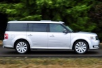 2017 Ford Flex SEL in Ingot Silver Metallic - Driving Right Side View
