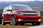 2018 Ford Flex SEL in Ruby Red Metallic Tinted Clearcoat - Static Front Right View