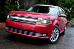 2018 Ford Flex SEL in Ruby Red Metallic Tinted Clearcoat - Static Front Left View