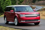 2018 Ford Flex SEL in Ruby Red Metallic Tinted Clearcoat - Driving Front Right View